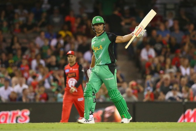 Marcus Stoinis three wickets 70 not out Melbourne Stars Melbourne Renegades Big Bash League BBL 35th Match cricket