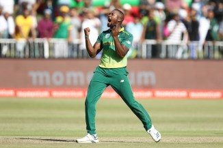 Andile Phehlukwayo career-best four wickets 69 not out South Africa Pakistan 2nd ODI Durban cricket