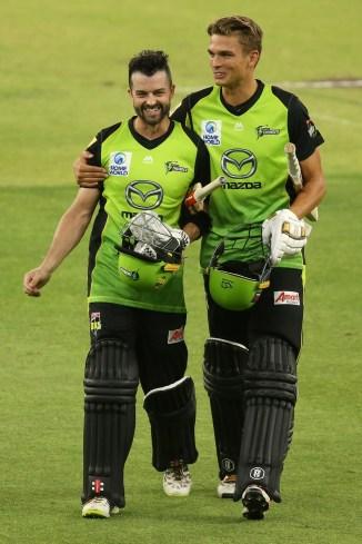 Callum Ferguson 113 Sydney Thunder Perth Scorchers Big Bash League BBL 41st Match cricket