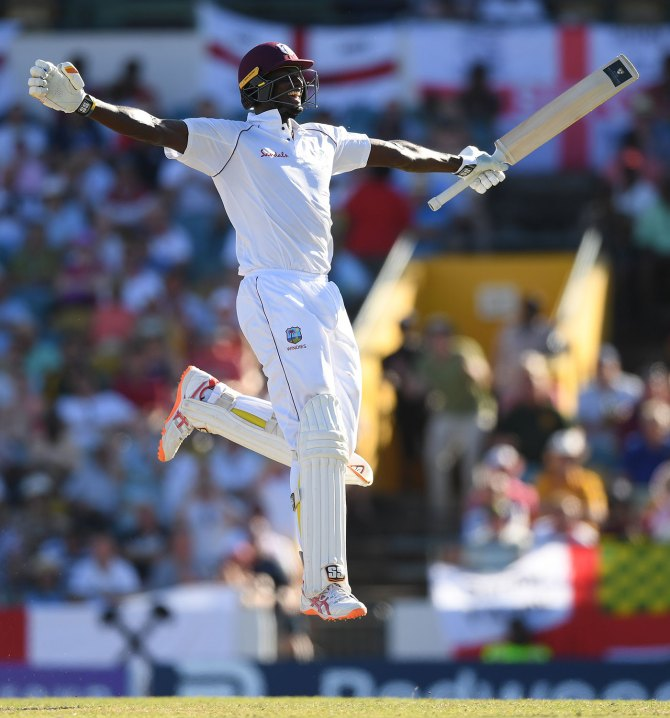 Jason Holder 202 not out West Indies England 1st Test Day 3 Barbados cricket