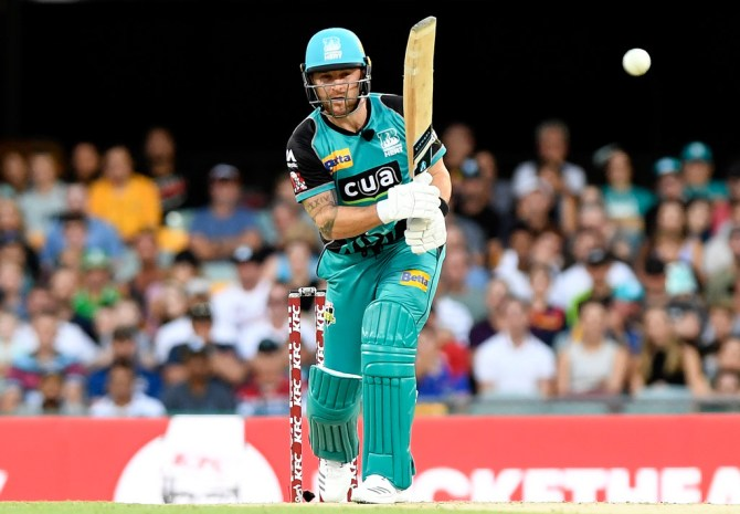 Brendon McCullum 69 Brisbane Heat Melbourne Renegades Big Bash League BBL 29th Match cricket