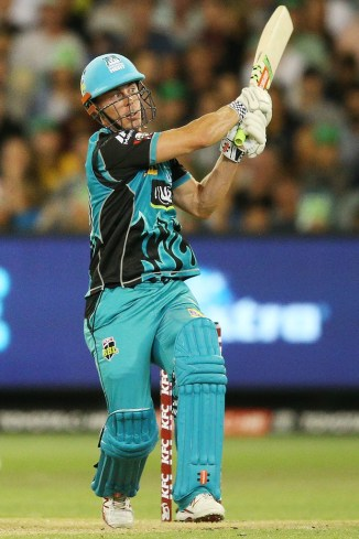 Chris Lynn 84 Sydney Sixers Brisbane Heat Big Bash League BBL 15th Match cricket