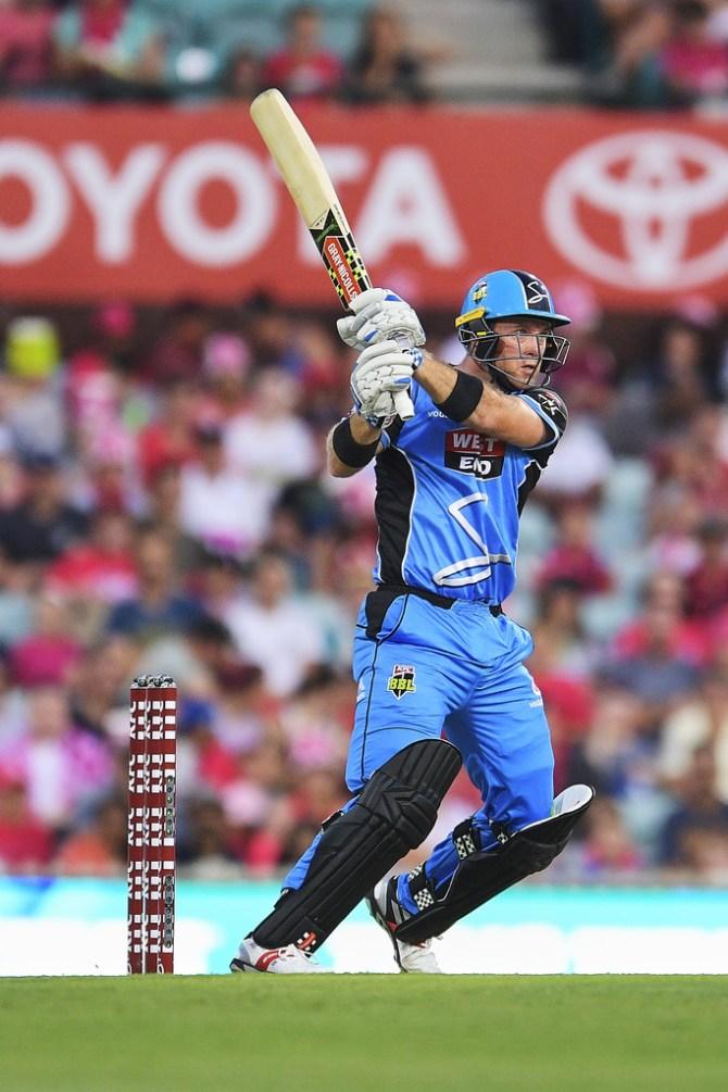 Colin Ingram 57 Adelaide Strikers Melbourne Stars Big Bash League BBL 27th Match cricket