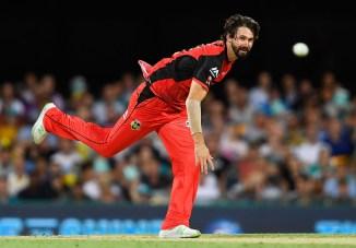 Kane Richardson three wickets Melbourne Renegades Sydney Sixers Big Bash League BBL 32nd Match cricket