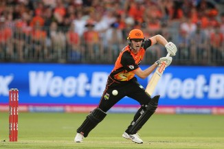 Ashton Turner 69 Perth Scorchers Melbourne Stars Big Bash League BBL 51st Match cricket