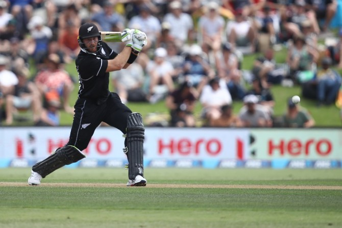 Martin Guptill miss T20 series against India lower back injury New Zealand cricket