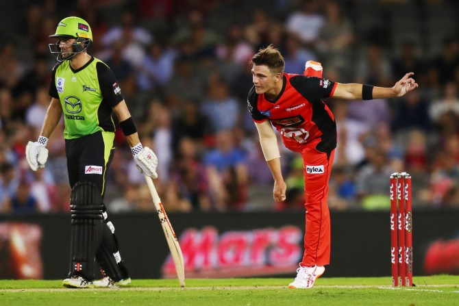 Cameron Boyce 51 not out two wickets Big Bash League BBL 46th Match cricket