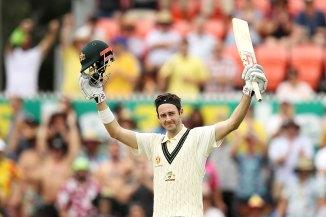 Kurtis Patterson 114 not out Australia Sri Lanka 2nd Test Day 2 Canberra cricket