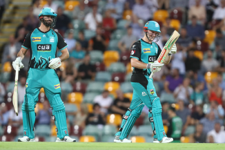 Ben Cutting 81 Max Bryant 71 Brisbane Heat Melbourne Stars Big Bash League BBL 53rd Match cricket