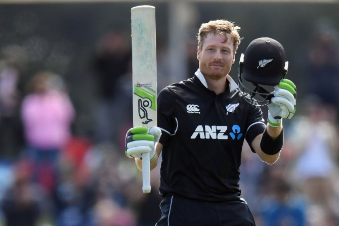Martin Guptill 118 New Zealand Bangladesh 2nd ODI Christchurch cricket