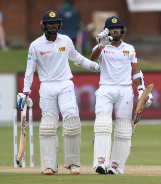 Kusal Mendis 84 not out Oshada Fernando 75 not out South Africa Sri Lanka 2nd Test Day 3 Port Elizabeth cricket