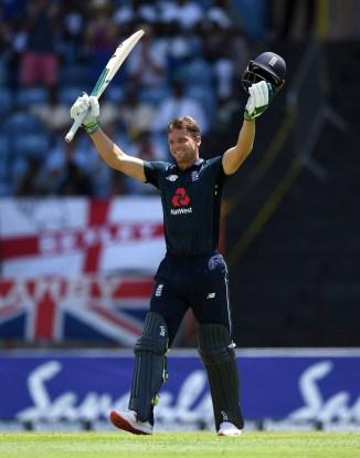 Jos Buttler 150 West Indies England 4th ODI Grenada cricket