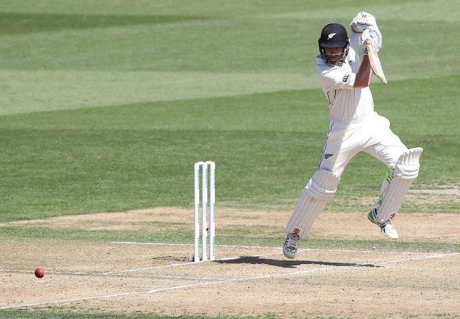 Kane Williamson 93 not out New Zealand Bangladesh 1st Test Day 2 Hamilton cricket