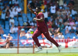 Oshane Thomas five wickets West Indies England 5th ODI St Lucia cricket