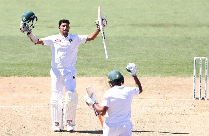 Soumya Sarkar 149 New Zealand Bangladesh 1st Test Day 4 Hamilton cricket