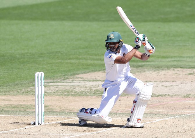 Mahmudullah 146 New Zealand Bangladesh 1st Test Day 4 Hamilton cricket
