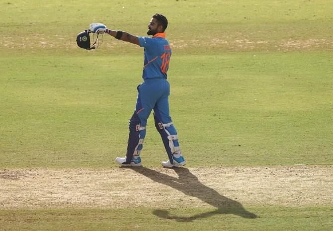 Virat Kohli 116 India Australia 2nd ODI Nagpur cricket