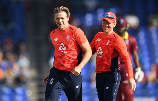 David Willey four wickets West Indies England 3rd T20 St Kitts cricket