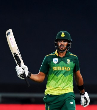 Aiden Markram 67 not out South Africa Sri Lanka 5th ODI Cape Town cricket
