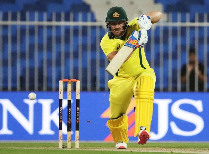 Aaron Finch 153 not out Pakistan Australia 2nd ODI Sharjah cricket