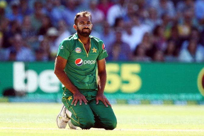 Wahab Riaz determined to be part of Pakistan's World Cup squad cricket