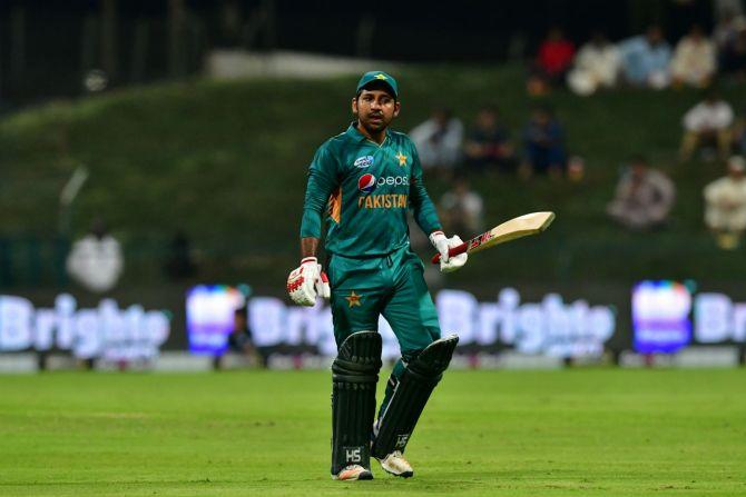 Sarfraz Ahmed insists he is not threatened by Mohammad Rizwan Pakistan cricket