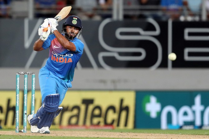Rishabh Pant not included in India's World Cup squad cricket