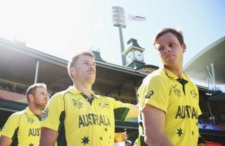 Steve Smith David Warner included in Australia's World Cup squad cricket