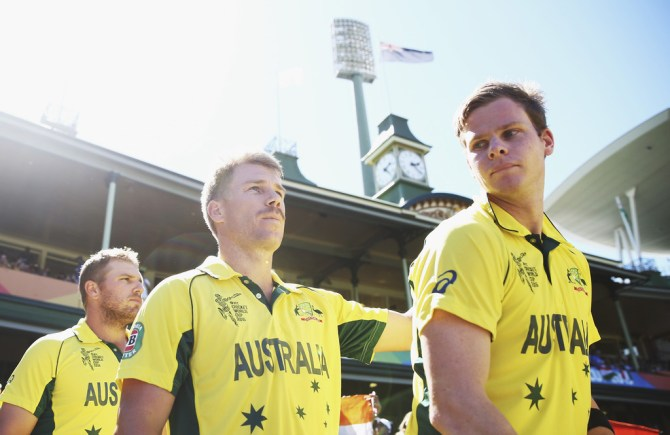 Steve Smith David Warner included in Australia's World Cup squad cricket