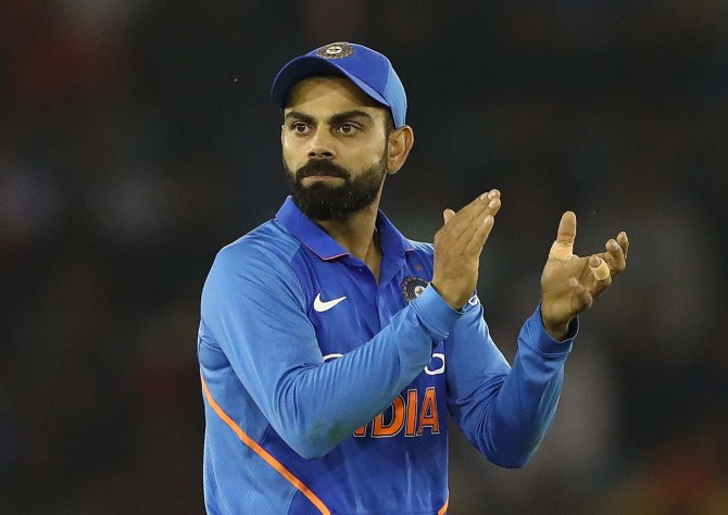 Virat Kohli not feeling the heat ahead of India's World Cup clash with Pakistan on June 16 cricket