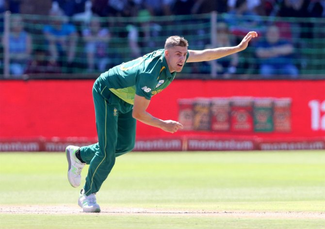 Anrich Nortje ruled out of the World Cup with a fractured thumb South Africa cricket