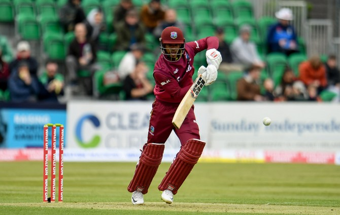 Shai Hope 109 West Indies Bangladesh ODI tri-series Dublin cricket