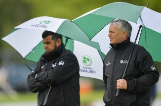 Ireland Bangladesh ODI tri-series match washed out due to heavy rain Dublin cricket