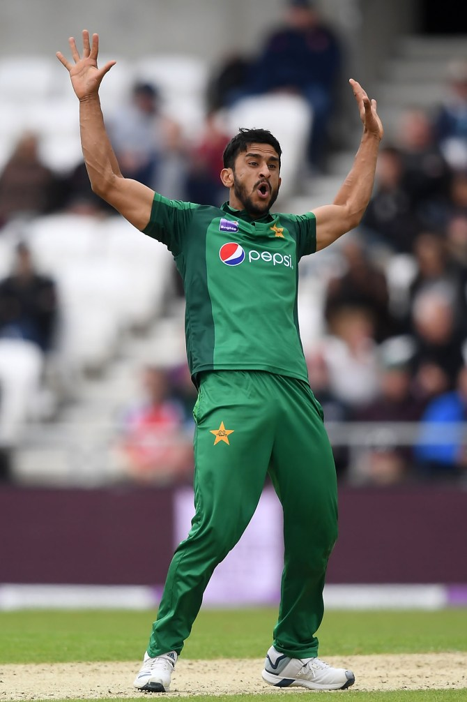 Hasan Ali glad Mohammad Amir and Wahab Riaz included in Pakistan's World Cup squad cricket