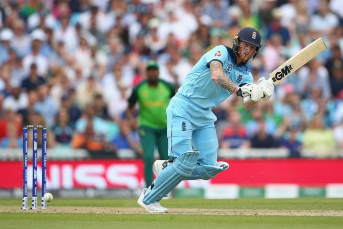 Ben Stokes 89, two wickets and superb catch England South Africa World Cup 1st Match The Oval cricket