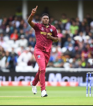 Oshane Thomas four wickets West Indies Pakistan World Cup 2nd Match Nottingham cricket