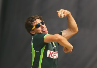 Pakistan spinner Faisal Akram said he is trying to bowl like Brad Hogg
