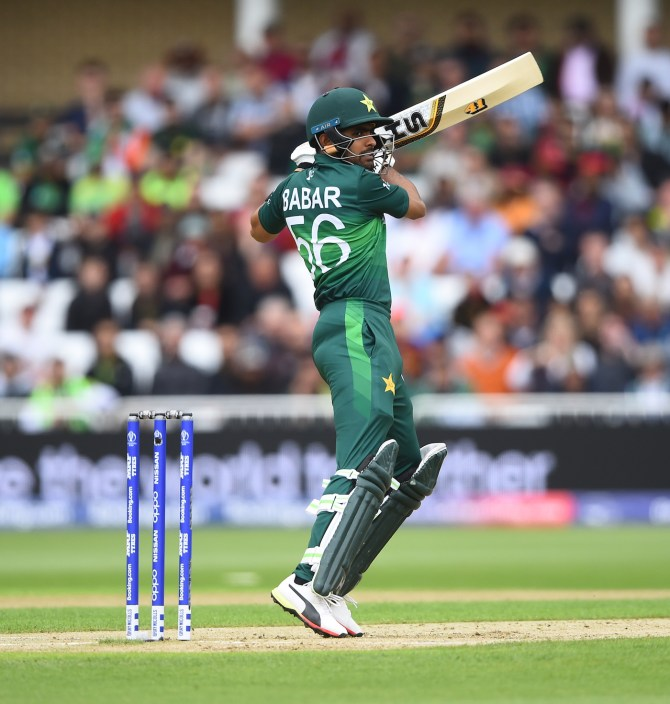Nasser Hussain believes Babar Azam is an elite batsman like Virat Kohli, Kane Williamson and Joe Root as he is capable of scoring runs in quick time without taking risks Pakistan World Cup cricket