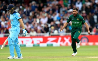 Rashid Latif impressed with way in which Mohammad Amir and Wahab Riaz bowled in Pakistan's World Cup match against England cricket