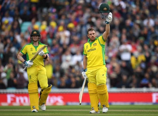 Aaron Finch 153 Australia Sri Lanka World Cup 20th Match The Oval cricket