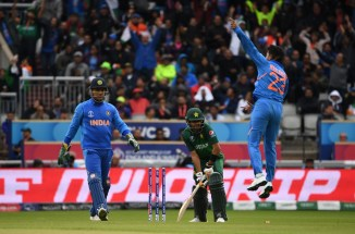 Michael Vaughan criticises Babar Azam for getting out to a lazy shot against India Pakistan World Cup cricket