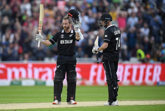 Kane Williamson 106 not out New Zealand South Africa World Cup 25th Match Edgbaston cricket