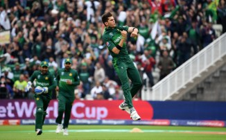 Shaheen Shah Afridi said his hat-trick wouldn't have been possible without two people