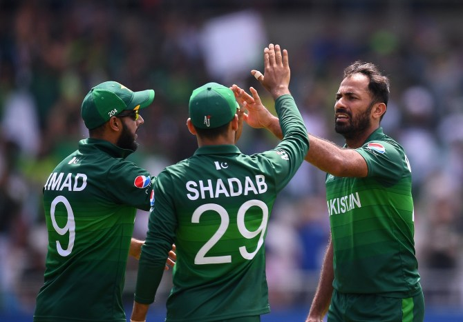 Wahab Riaz reveals that he prayed to Allah to help him fight through the pain of playing with a broken finger Pakistan Afghanistan World Cup cricket