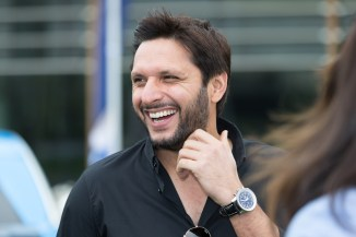 Shahid Afridi has no plans to form his own political party, but is considering getting involved in politics Pakistan cricket