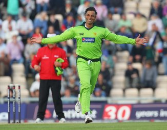 Pakistan fast bowler Shoaib Akhtar said he was bowling faster than 100 mph even before his international debut