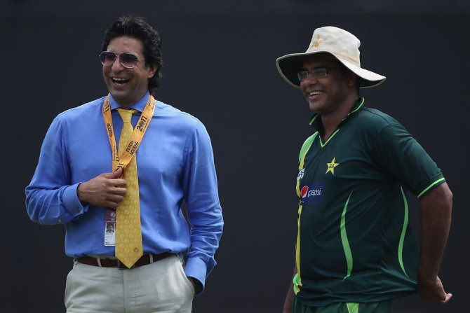 Aaqib Javed picked Pakistan legend Wasim Akram as his all-time favourite bowler
