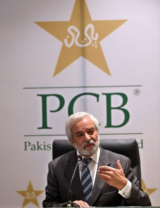Ehsan Mani made it clear that if England tour all the games will be held in Pakistan and none will be played in the UAE cricket