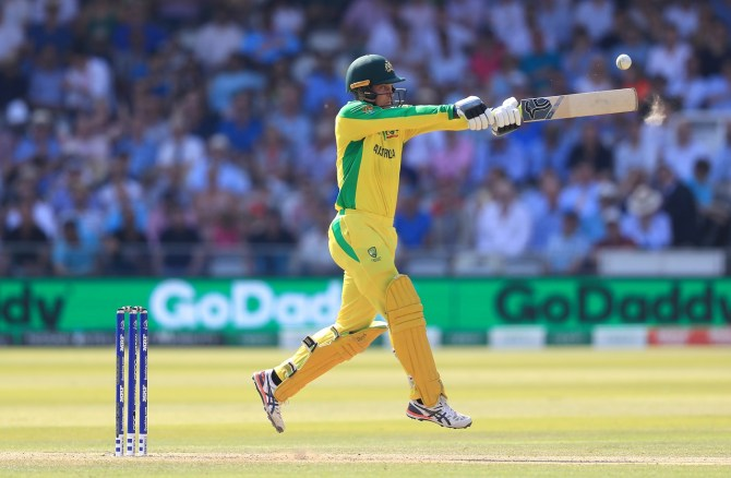 Alex Carey 71 Australia New Zealand World Cup 37th Match Lord's cricket