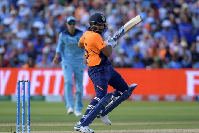 Rohit Sharma 102 England India World Cup 38th Match Edgbaston cricket